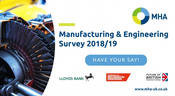 MHA Manufacturing and Engineering Survey now open! | gdb | Gatwick